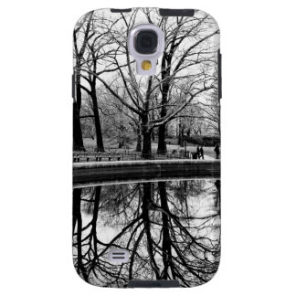 Central Park Black and White Landscape Photo Galaxy S4 Case