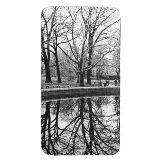 Central Park Black and White Landscape Photo Galaxy S4 Pouch