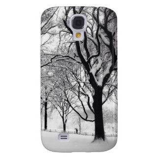 Central Park Blanketed In White Galaxy S4 Cover
