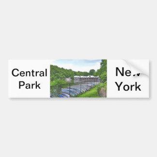 Central Park - Boathouse de Loeb Pegatina De Parachoque