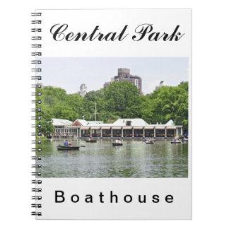 Central Park - Boathouse de Loeb Libro De Apuntes Con Espiral