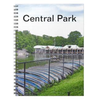 Central Park - Boathouse de Loeb Libros De Apuntes