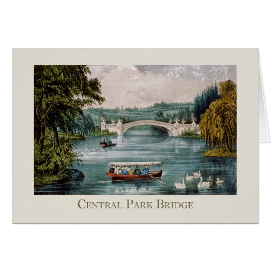 Central Park Bridge Card