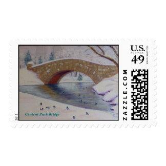 Central Park Bridge Postage