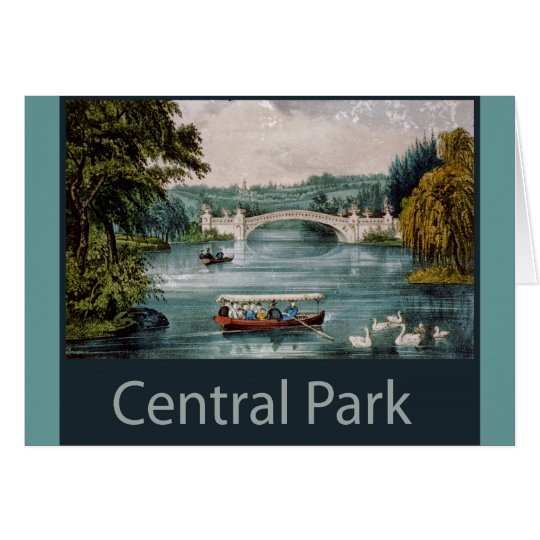 central park by  card