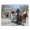 Central Park Calendar calendar