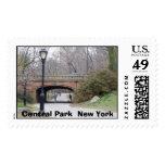 Central Park, Central Park  New York Postage Stamp