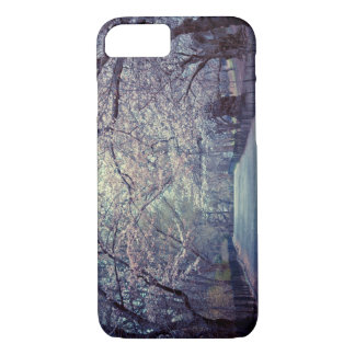 Central Park Cherry Blossom Path iPhone 7 Case