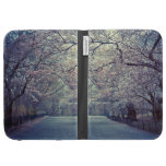 Central Park Cherry Blossom Path Kindle Covers