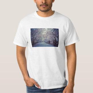 Central Park Cherry Blossom Path T-Shirt