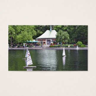 Central Park- Conservatory Water Business Card
