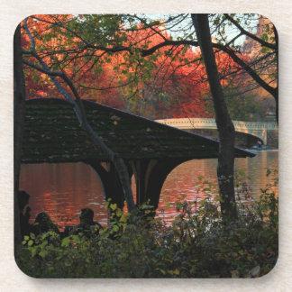Central Park: Conversación a través del puente del Posavasos De Bebidas