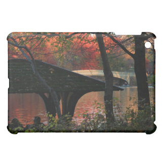 Central Park: Conversation Across From Bow Bridge Cover For The iPad Mini