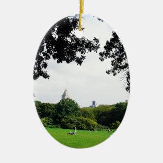 Central Park Ornamentos De Navidad
