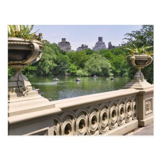 Central Park del este Postal