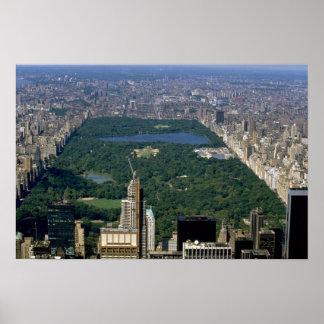 Central Park del sur New York City los E E U U Impresiones