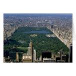 Central Park del sur, New York City, los E.E.U.U. Tarjeta De Felicitación