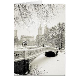Central Park - día de fiesta de Nueva York Tarjeta De Felicitación