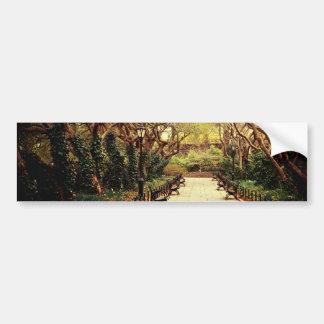 Central Park Fairy Tale Spring Path - New York Bumper Sticker