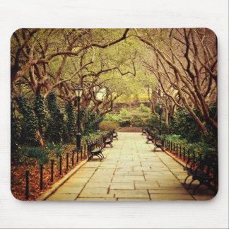 Central Park Fairy Tale Spring Path - New York Mouse Pad