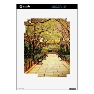 Central Park Fairy Tale Spring Path - New York iPad 2 Skin