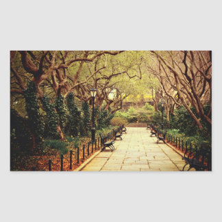 Central Park Fairy Tale Spring Path - New York Stickers