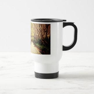 Central Park Fairy Tale Spring Path - New York Travel Mug