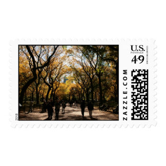 Central Park - Fall Stamps
