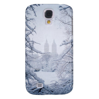 Central Park Framed In Snow and Ice Galaxy S4 Cover
