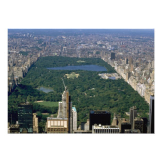 Central Park from the south, New York City, USA Personalized Invitation