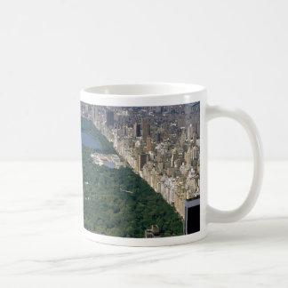 Central Park from the south, New York City, USA Mug