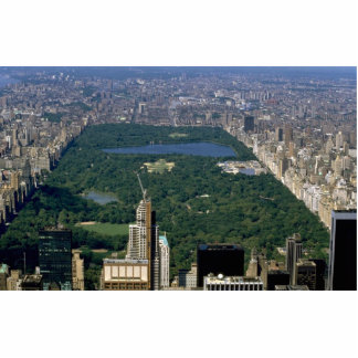Central Park from the south, New York City, USA Photo Cut Out
