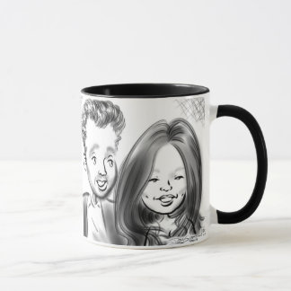 Central Park Gala Caricatures 13b Mug