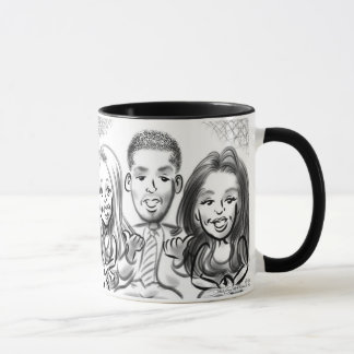 Central Park Gala Caricatures 13d Mug