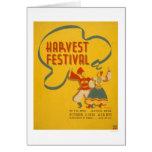 Central Park Harvest 1936 WPA Card