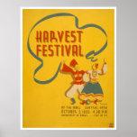 Central Park Harvest 1936 WPA Print