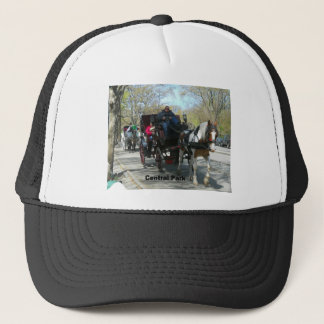 Central Park, Horse and Carriage Trucker Hat