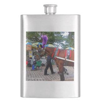 Central Park Horse Flask
