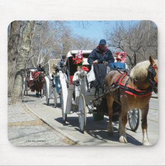 Central Park Horse n' Carriage Mousepad