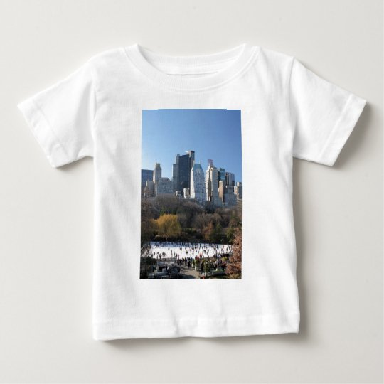 Central Park Ice Rink Baby T-Shirt