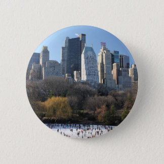 Central Park Ice Rink Button