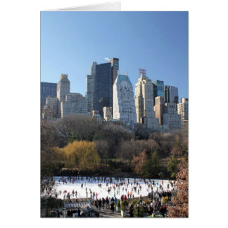 Central Park Ice Rink Card