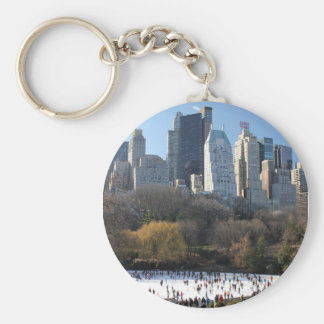 Central Park Ice Rink Keychain