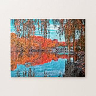 Central Park In Autumn Puzzle