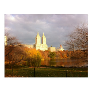 Central Park in Fall Postcard