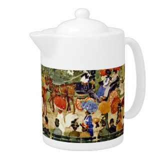 Central Park in New York City - by Prentergast Teapot