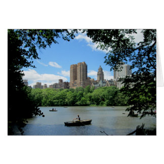 Central Park in New York City Card