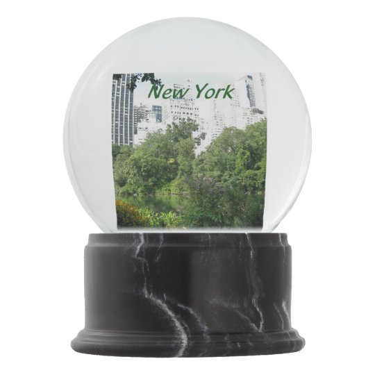 Central Park In New York City Snow Globe Zazzle