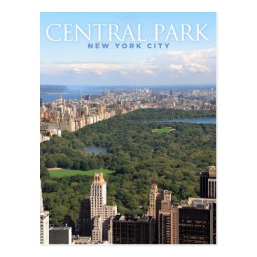 sumners central park in new york postcard