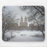 Central Park in the Snow, New York City Mouse Pad